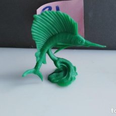 Figuras de Goma y PVC: ANTIGUO FIGURA DE LA SERIE ACUARAMA DE JECSAN EN PLASTICO PEZ . Lote 133806934