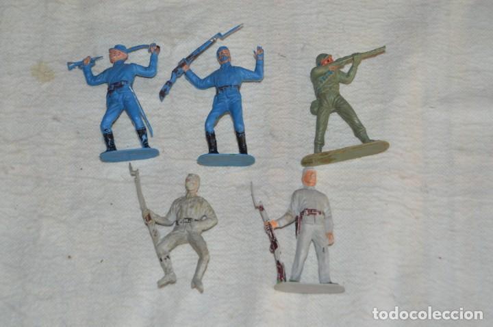 LOTE DE FIGURAS PLÁSTICO PVC - REAMSA, GOMARSA, PECH, LAFREDO, JECSAN, COMANSI, ETC... - ENV24H - 04 (Juguetes - Figuras de Goma y Pvc - Reamsa y Gomarsa)