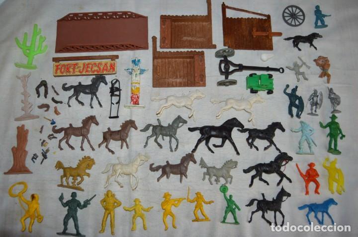LOTE DE FIGURAS PLÁSTICO PVC - REAMSA, GOMARSA, PECH, LAFREDO, JECSAN, COMANSI, ETC... - ENV24H - 07 (Juguetes - Figuras de Goma y Pvc - Reamsa y Gomarsa)