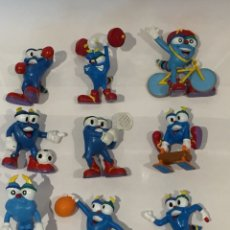 Figuras de Goma y PVC: FIGURAS PVC IZZY JUEGOS OLÍMPICOS. Lote 133943842