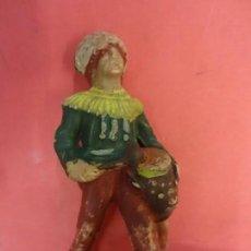 Figuras de Goma y PVC: REAMSA. INDIO EN PLASTICO. SERIE INDIOS COMANCHE. (1956). 65 MM.. Lote 133989938