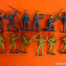 Figuras de Goma y PVC: JECSAN. SERIE DOS BANDERAS (1955). 65 MM.. Lote 133991938