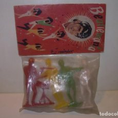 Figuras de Goma y PVC: FIGURAS THE BEATLES....CON SU BOLSA ORIGINAL.. Lote 134027358