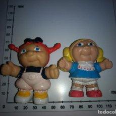 Figuras de Goma y PVC: LOTE 2 FIGURAS PANDILLA BASURA -EURA SPAIN, COMICS SPAIN, DISNEY, BULLY,AÑOS 80-90. Lote 134132230