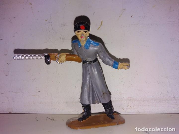 Figuras de Goma y PVC: Soldados del mundo comansi rusos Rusia años 70 - Foto 3 - 134180810