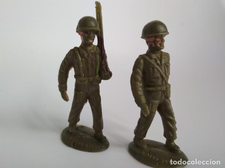 FIGURAS SOLDADOS 60MM (Juguetes - Figuras de Goma y Pvc - Lafredo)