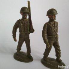 Figuras de Goma y PVC: FIGURAS SOLDADOS 60MM. Lote 134185330
