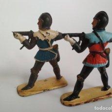 Figuras de Goma y PVC: FIGURAS MEDIEVALES 54MM. Lote 134196426