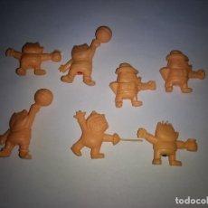 Figuras de Goma y PVC: LOTE 7 FIGURAS COBI OLIMPIADA BARCELONA TIPO DUNKIN . Lote 134237962