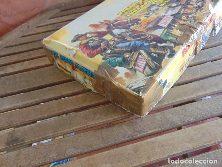Figuras de Goma y PVC: TODO EL OESTE AMERICANO DE COMANSI FUERTE INCOMPLETO - Foto 4 - 135096645