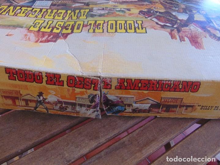 Figuras de Goma y PVC: TODO EL OESTE AMERICANO DE COMANSI FUERTE INCOMPLETO - Foto 6 - 135096645