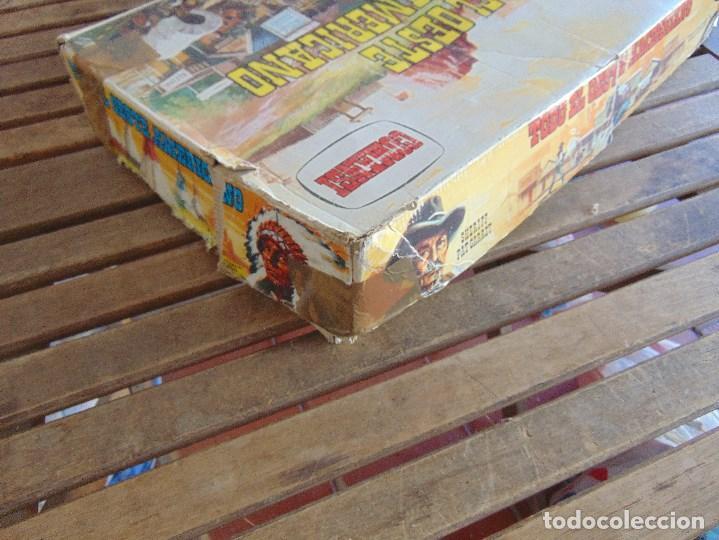 Figuras de Goma y PVC: TODO EL OESTE AMERICANO DE COMANSI FUERTE INCOMPLETO - Foto 7 - 135096645