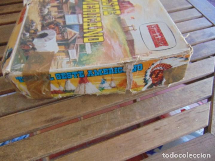 Figuras de Goma y PVC: TODO EL OESTE AMERICANO DE COMANSI FUERTE INCOMPLETO - Foto 8 - 135096645