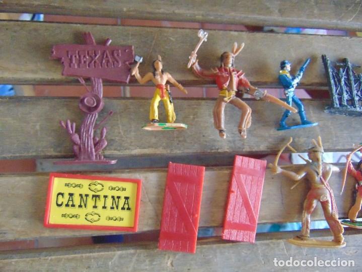 Figuras de Goma y PVC: TODO EL OESTE AMERICANO DE COMANSI FUERTE INCOMPLETO - Foto 18 - 135096645