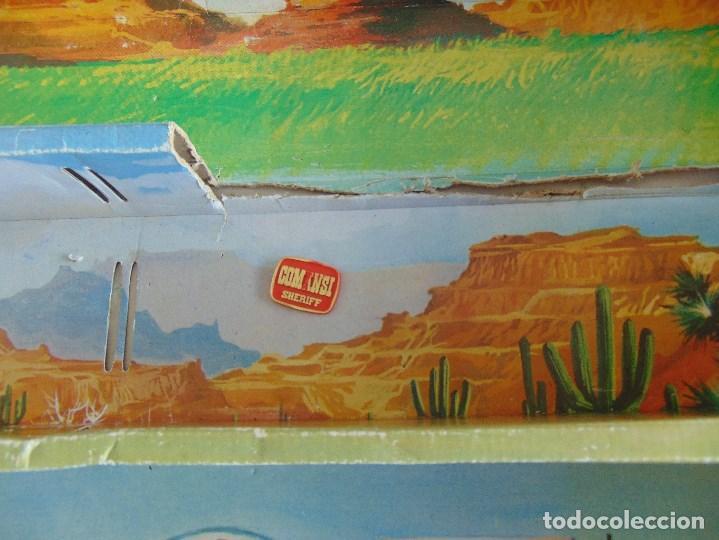 Figuras de Goma y PVC: TODO EL OESTE AMERICANO DE COMANSI FUERTE INCOMPLETO - Foto 29 - 135096645