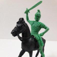 Figuras de Goma y PVC: ROMANO A CABALLO . SERIE ROMANOS . REALIZADO POR JECSAN . AÑOS 60 / 70. Lote 134325686