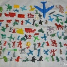 Figuras de Goma y PVC: VINTAGE - LOTAZO DE FIGURAS / FIGURITAS Y ACCESORIOS MONTAPLEX - MADE IN SPAIN - ¡MIRA!. Lote 130043319