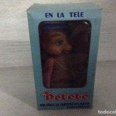 Figuras de Goma y PVC: MUÑECO PETETE,BABY TOYS GAVISOL.. Lote 134416186