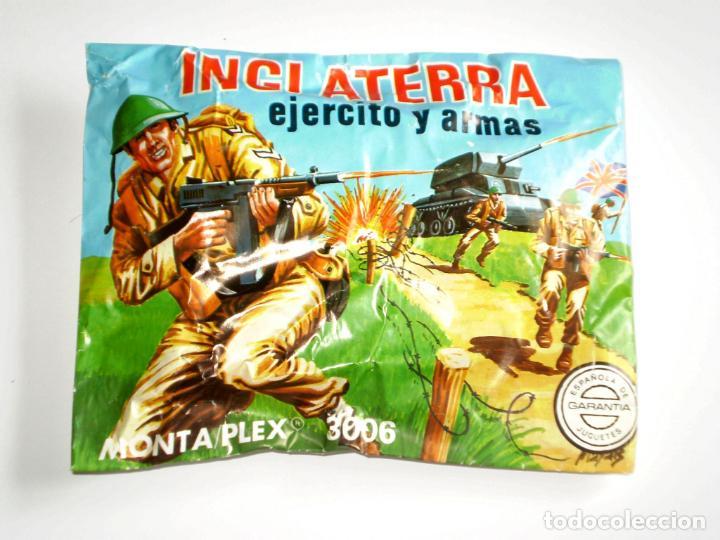 SOBRE MONTAPLEX Nº 3006 INGLATERRA - EJERCITO Y ARMAS - SOBRE CERRADO (Juguetes - Figuras de Goma y Pvc - Montaplex)