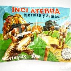 Figuras de Goma y PVC: SOBRE MONTAPLEX Nº 3006 INGLATERRA - EJERCITO Y ARMAS - SOBRE CERRADO. Lote 191926163