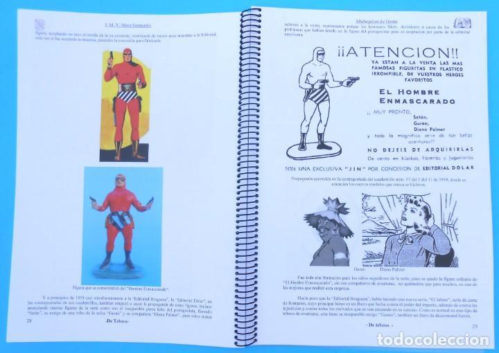 Gummi- und PVC-Figuren: Gran conpendio Muñequitos de Goma de los Heroes del Tebeo Estereoplast, Teixido Pech etc jecsan. - Foto 5 - 151924241