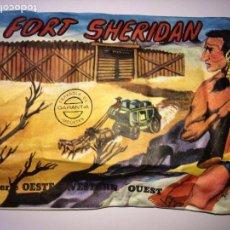 Figuras de Goma y PVC: SOBRE MONTAPLEX Nº 447 FORT SHERIDAN - SOBRE CERRADO. Lote 159052570