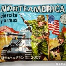Figuras de Goma y PVC: SOBRE MONTAPLEX Nº 3007 NORTEAMERICA - EJERCITO Y ARMAS - SOBRE CERRADO. Lote 191926170