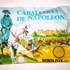 Figuras de Goma y PVC: SOBRE MONTAPLEX Nº 141 CABALLERÍA DE NAPOLEÓN - SOBRE CERRADO. Lote 227754695