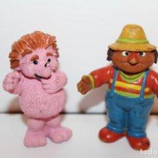 Figuras de Goma y PVC: FIGURAS BARRIO SESAMO ESPINETE Y DON PIMPON - COMIC SPAIN. Lote 134816658
