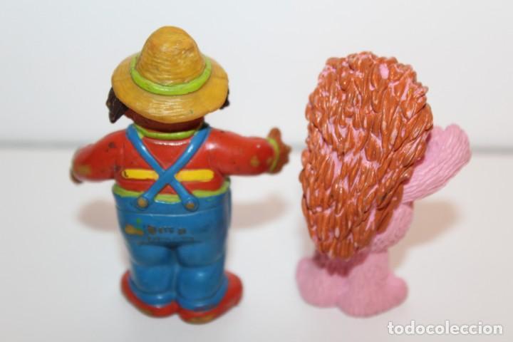 Figuras de Goma y PVC: FIGURAS BARRIO SESAMO ESPINETE Y DON PIMPON - COMIC SPAIN - Foto 2 - 134816658