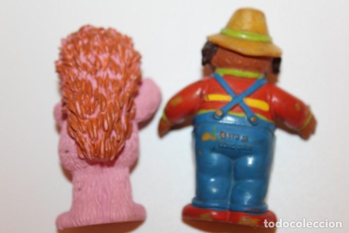 Figuras de Goma y PVC: FIGURAS BARRIO SESAMO ESPINETE Y DON PIMPON - COMIC SPAIN - Foto 4 - 134816658
