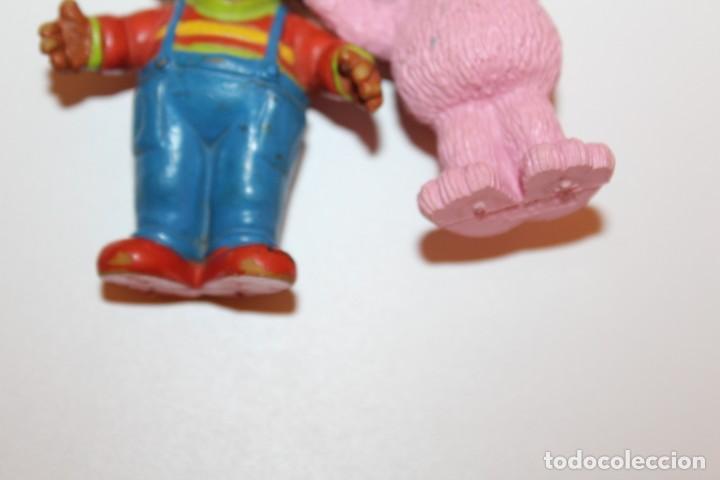 Figuras de Goma y PVC: FIGURAS BARRIO SESAMO ESPINETE Y DON PIMPON - COMIC SPAIN - Foto 5 - 134816658