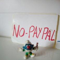 Figuras de Goma y PVC: FIGURA MUÑECO PITUFO PAYASO CLON. Lote 134839106