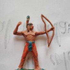 Figuras de Goma y PVC: FIGURA INDIO JECSAN. Lote 134872330