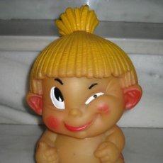 Figuras de Goma y PVC: MUÑECA DE GOMA ANTIGUA DE LA MARCA MAJUBA AÑOS 70. Lote 135135490