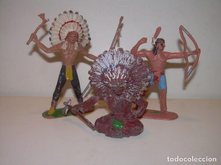 Figuras de Goma y PVC: ANTIGUAS FIGURAS...TOTAL. 7 - Foto 4 - 135214986