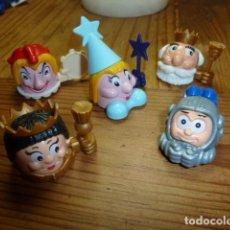 Figuras Kinder: LOTE CABEZUDOS. KINDER. Lote 135279734