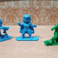 Figuras de Goma y PVC: FIGURAS PLASTICO PROMOCIONALES POP CRACKLE KRISPIES DE KELLOGGS 1990. Lote 135290030