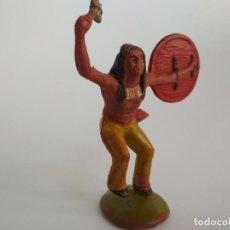 Figuras de Goma y PVC: FIGURA INDIO REAMSA GOMA. Lote 135396314