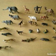Figuras de Goma y PVC: FAUNA AFRICANA SALVAJE. 24 FIGURAS DE GOMA.. Lote 135440738