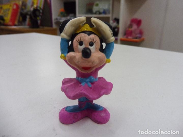 Figura goma pvc Minnie Mickey bailarina Disney Applause, China segunda mano