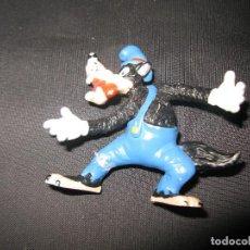 Figuras de Goma y PVC: FIGURA PVC GOMA LOBO DE LOS TRES CERDITOS DISNEY BULLYLAND . Lote 135492726