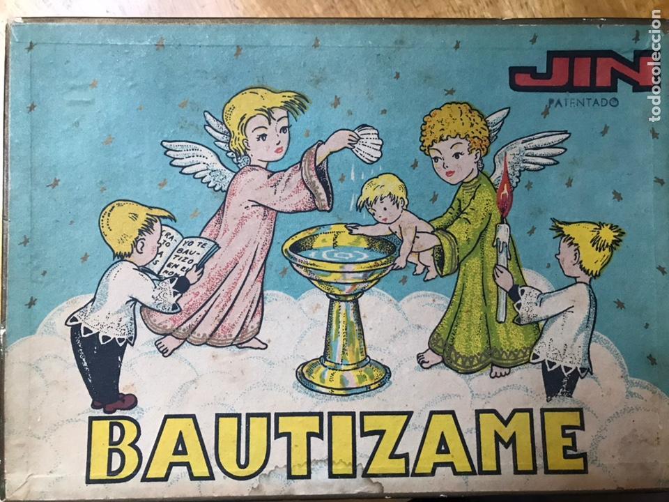 ESTEREOPLAST / JIN AÑOS 50 BAUTIZAME RARO COMPLETO (Juguetes - Figuras de Goma y Pvc - Estereoplast)