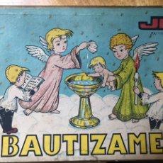 Figuras de Goma y PVC: ESTEREOPLAST / JIN AÑOS 50 BAUTIZAME RARO COMPLETO. Lote 135494071