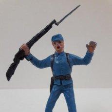 Figuras de Goma y PVC: SOLDADO FEDERAL - YANKEE . REALIZADO POR JECSAN . AÑOS 60 EN PLASTICO. Lote 135497250