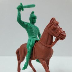 Figuras de Goma y PVC: ROMANO A CABALLO . SERIE ROMANOS . REALIZADO POR JECSAN . AÑOS 60 / 70. Lote 135510178