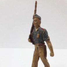 Figuras de Goma y PVC: SOLDADO LEGIONARIO . DESFILE DE PECH . AÑOS 50 . EN GOMA. Lote 135511934