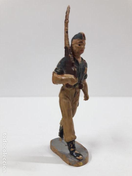 Figuras de Goma y PVC: SOLDADO LEGIONARIO . DESFILE DE PECH . AÑOS 50 . EN GOMA - Foto 2 - 135511934