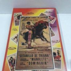 Figuras de Goma y PVC: CAJA ORIGINAL DE LA CORRIDA DE TOROS . REALIZADA POR PECH . AÑOS 60. Lote 135518578