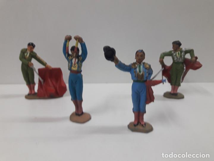 Figuras de Goma y PVC: CAJA ORIGINAL DE LA CORRIDA DE TOROS . REALIZADA POR PECH . AÑOS 60 - Foto 7 - 135518578